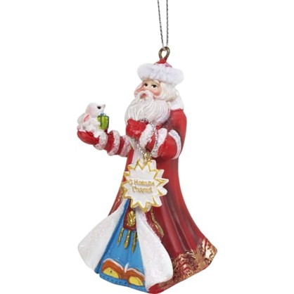Украшение Елочное Дед Мороз 10 См