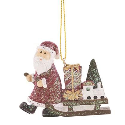Украшение Елочное Сани Деда Мороза 7.5 См в