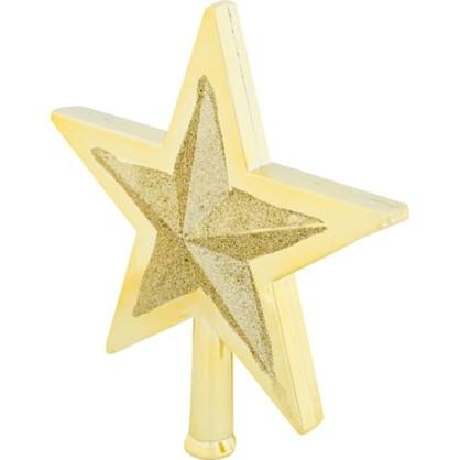 Верхушка Для Елки Звезда 25.5 См Пластик в