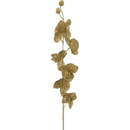 Ветка Золотая С Цветочками в