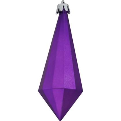 Елочное Украшение Конус 10 См 6 Шт Цвет Фиолетовый в