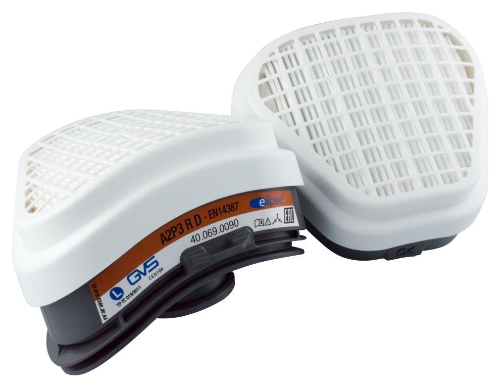 Набор сменных фильтров GVS Elipse A2P3 для респираторов-полумасок SPR495/496 2 шт.