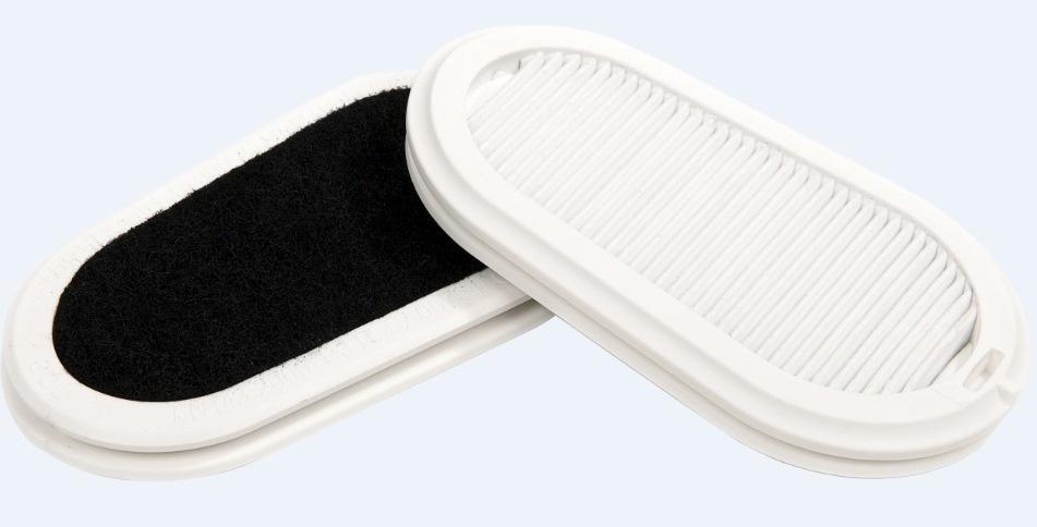 Набор сменных фильтров GVS Elipse P3 с защитой от запаха для респираторов-полумасок SPR337/502 2 шт в