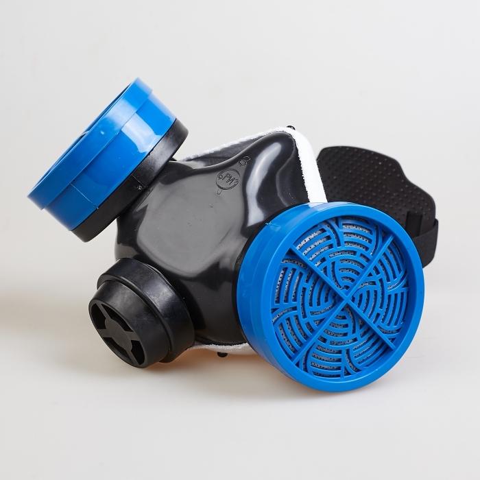 Полумаска Бриз-2201 (РПГ) противогазовая с фильтром А1В1Е1К1